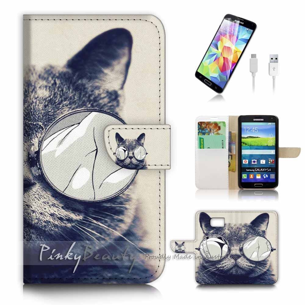 samsung s6 edge cases flip cats
