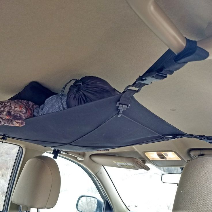 Photo of The Kamchatka Gear Cargo hammock is attached to the four handles …