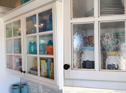 Sara S Kitchen Tour Part 1 Glass Kitchen Cabinet Doors Remodel Bedroom Glass Kitchen Cabinets