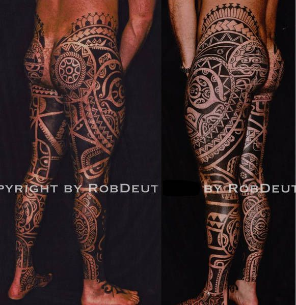 Silo Tattoos Incredible Body Art Masterpieces That Look: Rob Deut, Netherlands AMAZING