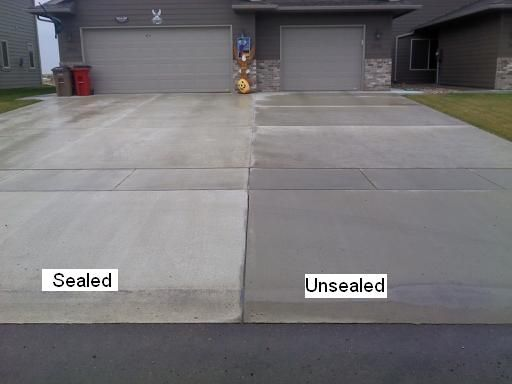 Concrete Sealers: protect against weather and water