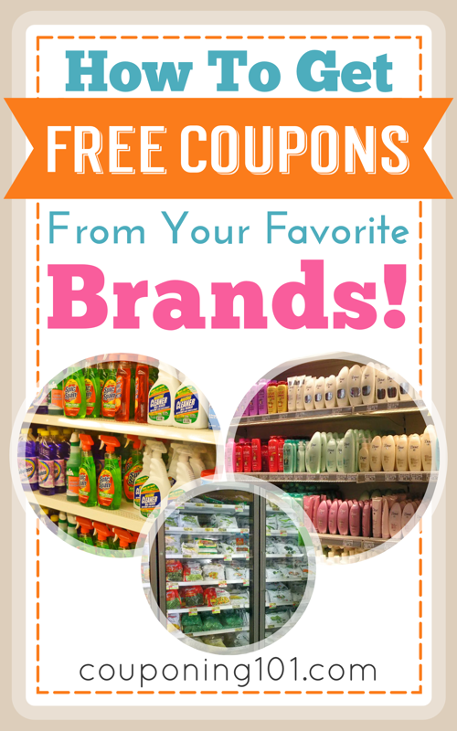 Websites to get coupons