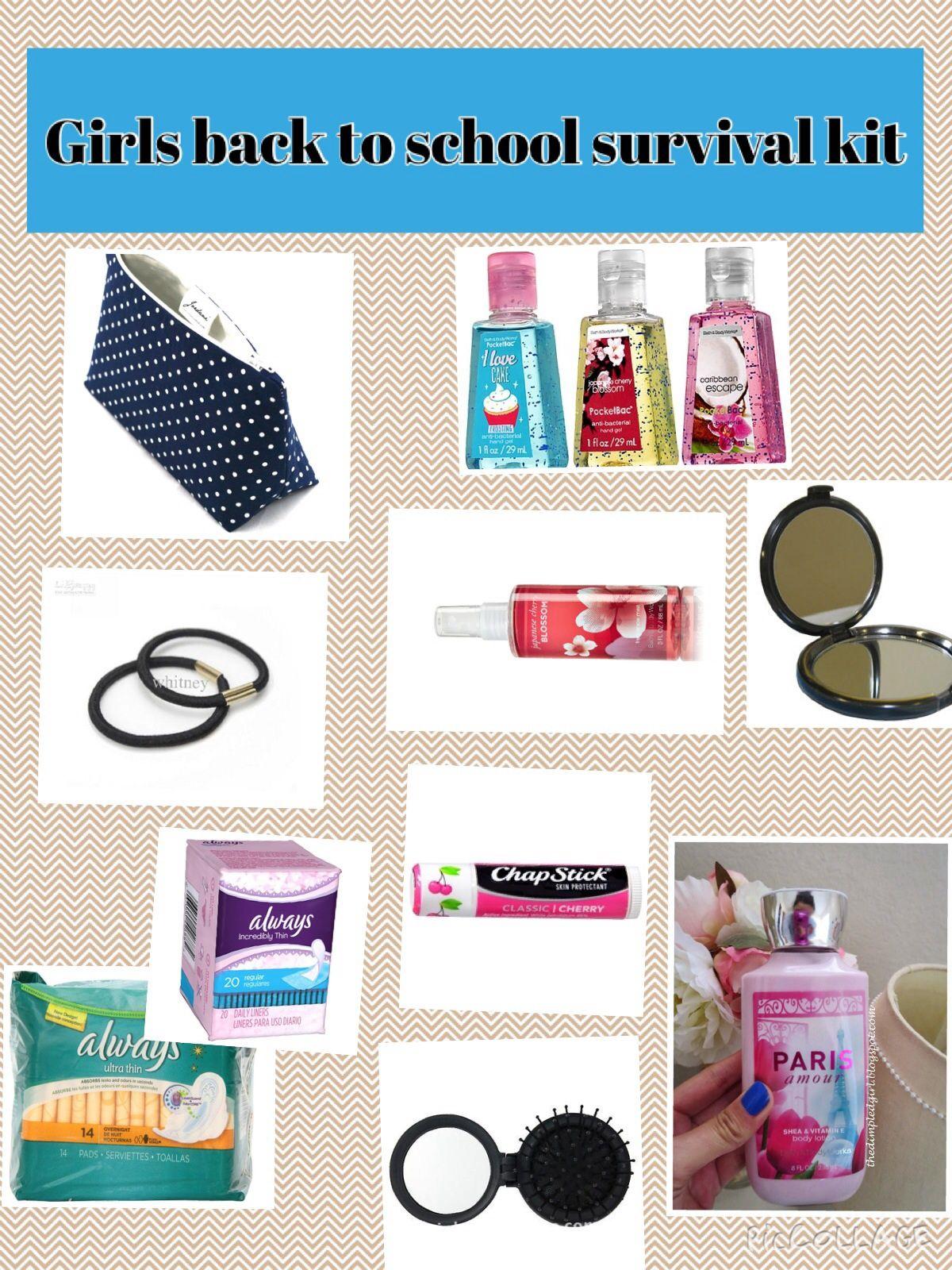 I made this Back to school locker kit for girls