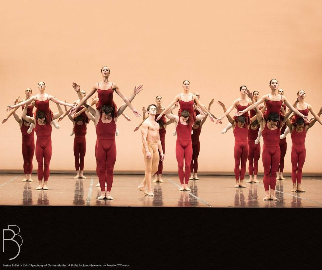 Boston Ballet in Third Symphony of Gustav Mahler: A Ballet by John Neumeier