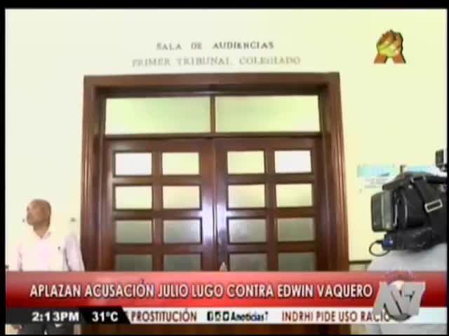 Aplazan Acusación Del Pelotero Julio Lugo Contra Edwin Vaquero