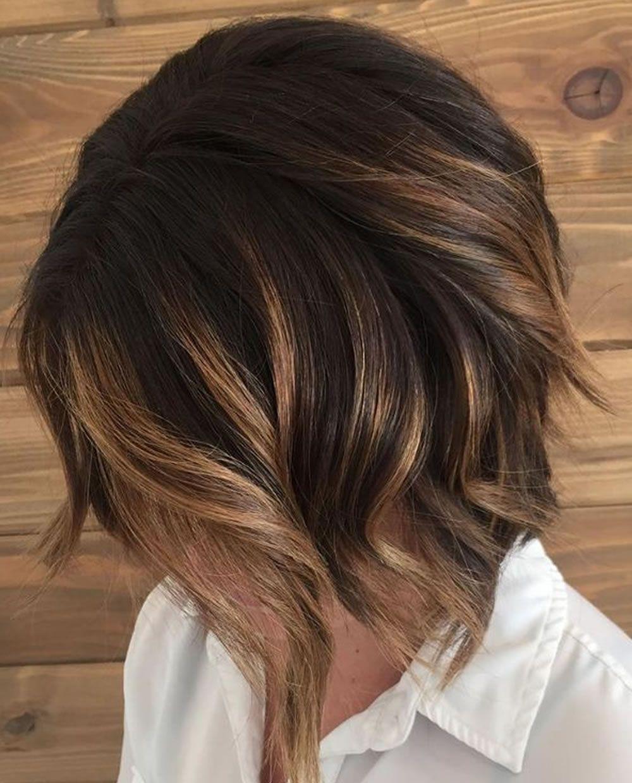 Fraulich - Frisuren für die Frau  Haarschnitt ideen, Balayage