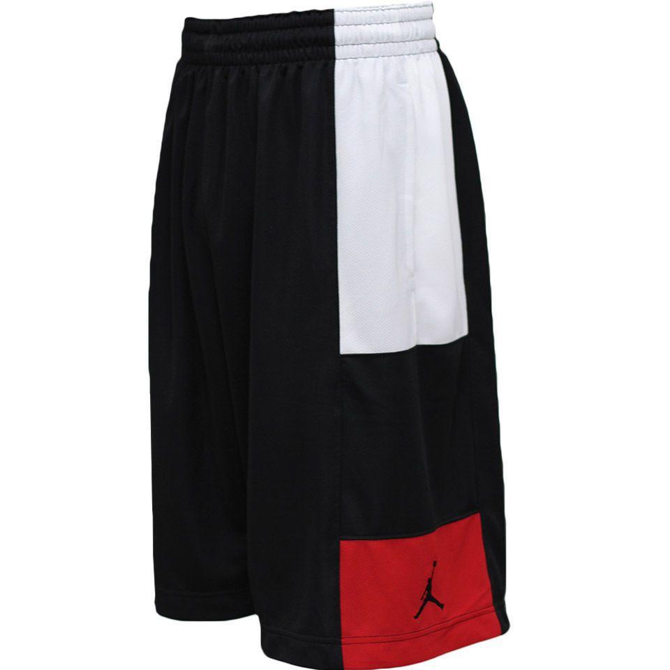 NIKE JORDAN TRILLIONAIRE BASKETBALL SHORTS MEN'S SIZE 2XL BLACK 729413 011  NEW #NIKE #Athletic