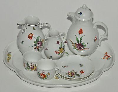 Vntg 9-Piece Serving Set - Nymphenburg Porcelain Tea Service