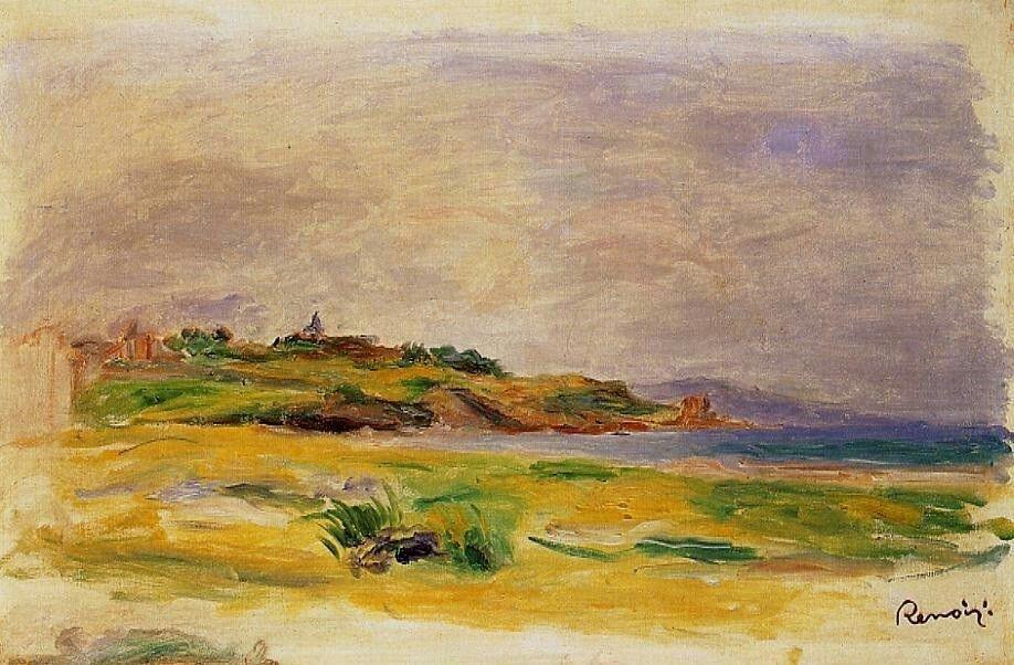 Cagnes 2.Pierre-Auguste Renoir (1841 - 1919)