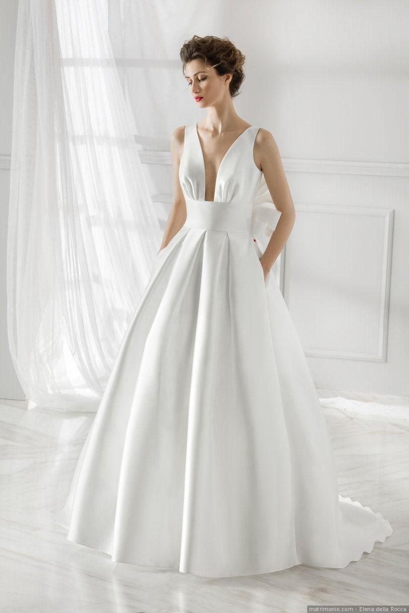Vestiti Semplici Da Sposa.Abiti Da Sposa Semplici I 50 Modelli Piu Belli Abiti Da Sposa