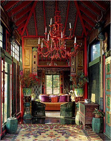 Tony Duquett's tea house in the 80's