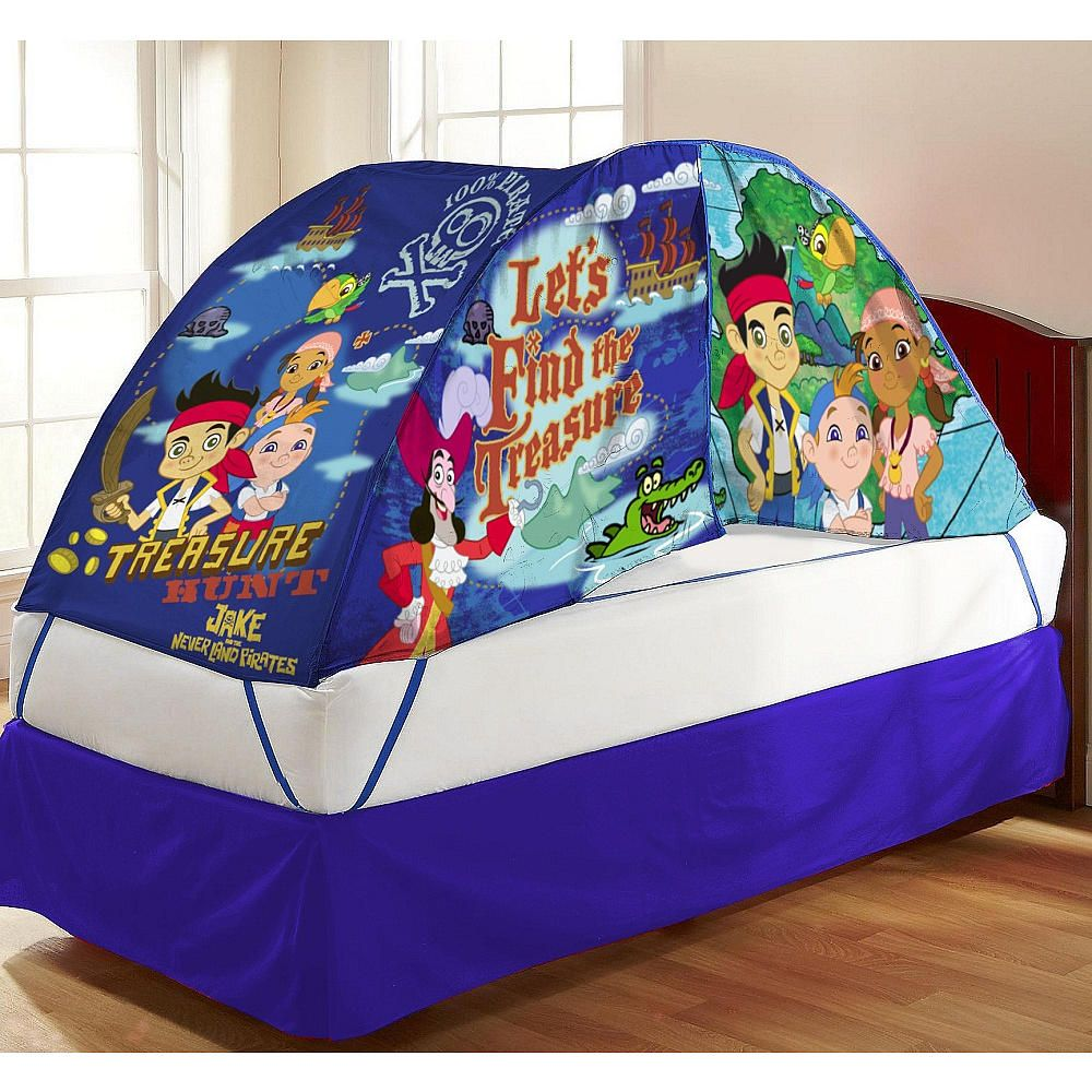 Disney Jake and The Neverland Pirates Bed Tent - Idea Nuova - Toys  R  & Disney Jake and The Neverland Pirates Bed Tent - Idea Nuova - Toys ...