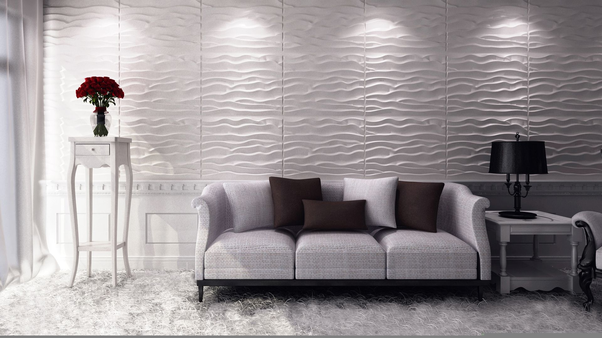 Moderne Deckenpaneele Design Ideen 3d Wandpaneele Deckenpaneele Tapeten, Fototapeten, Sonne… In 2020 | Design Living Room Wallpaper, Modern Wallpaper Living Room, Wallpaper Living Room