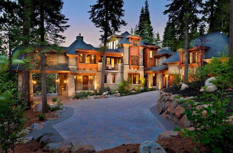 Dream House California Mountain Mansion 12 Photos 3 Villen