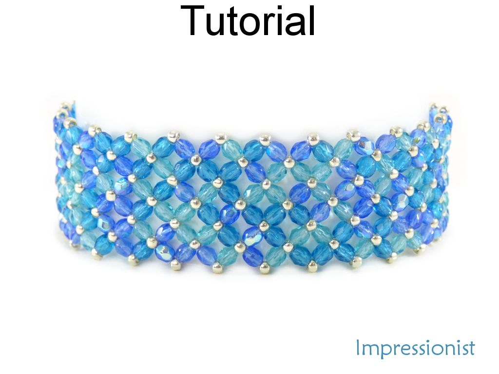 beads watch for bracelet making flower beaded tutorial glass vine youtube
