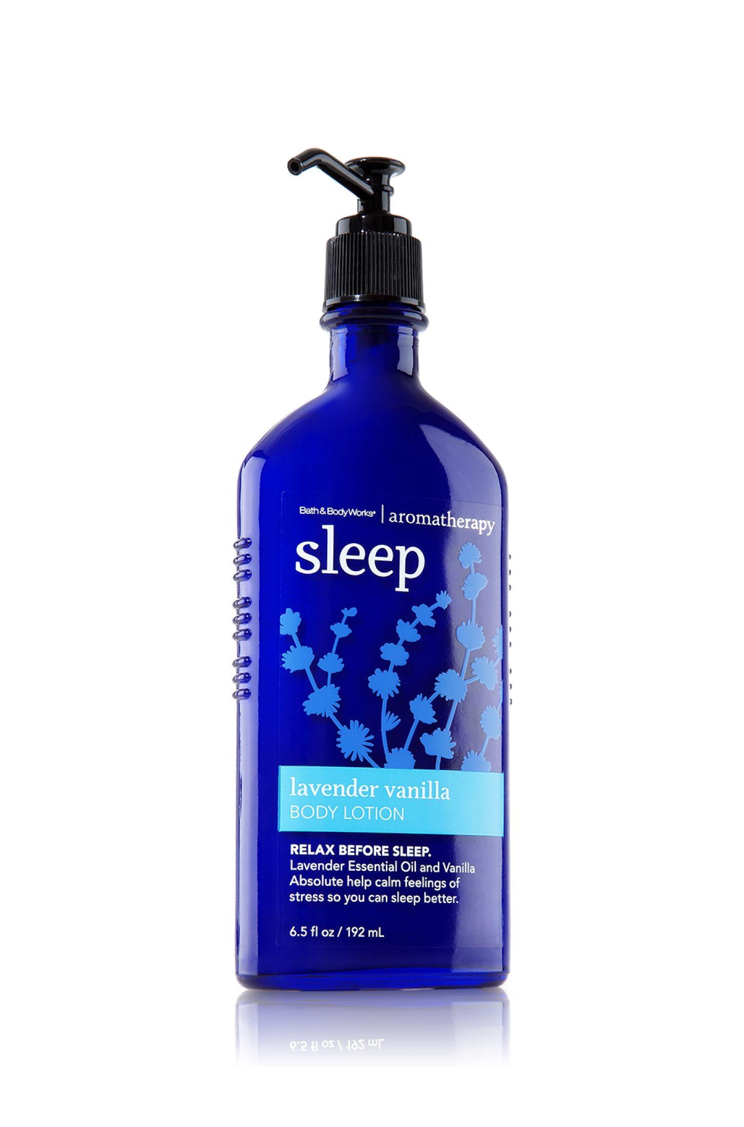 Sleep Lavender Vanilla Body Lotion Aromatherapy Bath