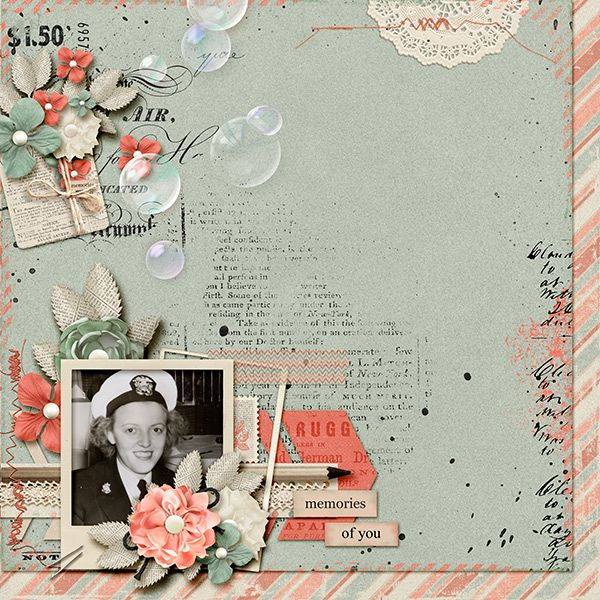 """Created using """"If You Ever"""" collection by Fanette Design and """"Bubble Maker vol 2"""" by Terry Maruca, found at Digital Scrapbooking Studio, #thestudio, #DSS, http://www.digitalscrapbookingstudio.com/personal-use/bundled-deals/if-you-ever-collection/"""