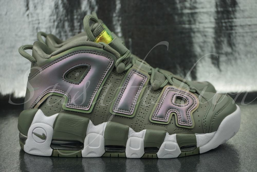 quality design 62d06 a17f4 WMNS NIKE AIR MORE UPTEMPO DARK STUCCO-WHITE