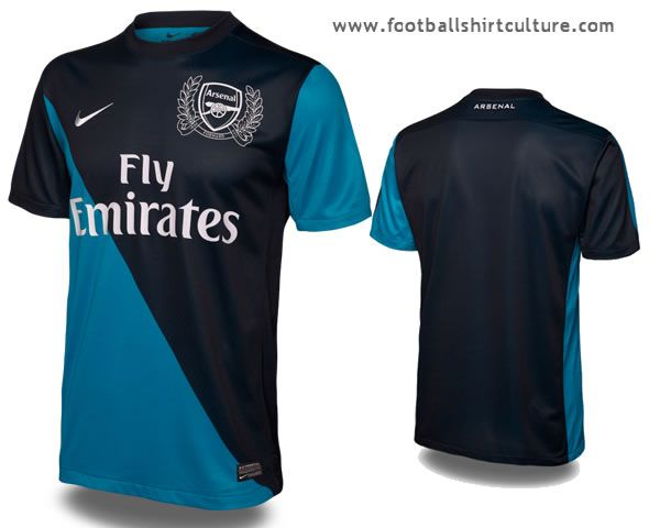 50cbc240190 Arsenal 11 12 Nike 125th anniversary away kit