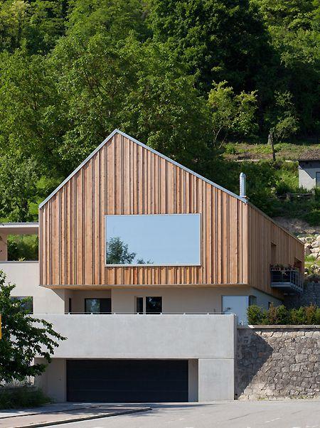 Neubau Haus F facade Pinterest Neubau, Häuschen und Architektur - eklektischen stil einfamilienhaus renoviert