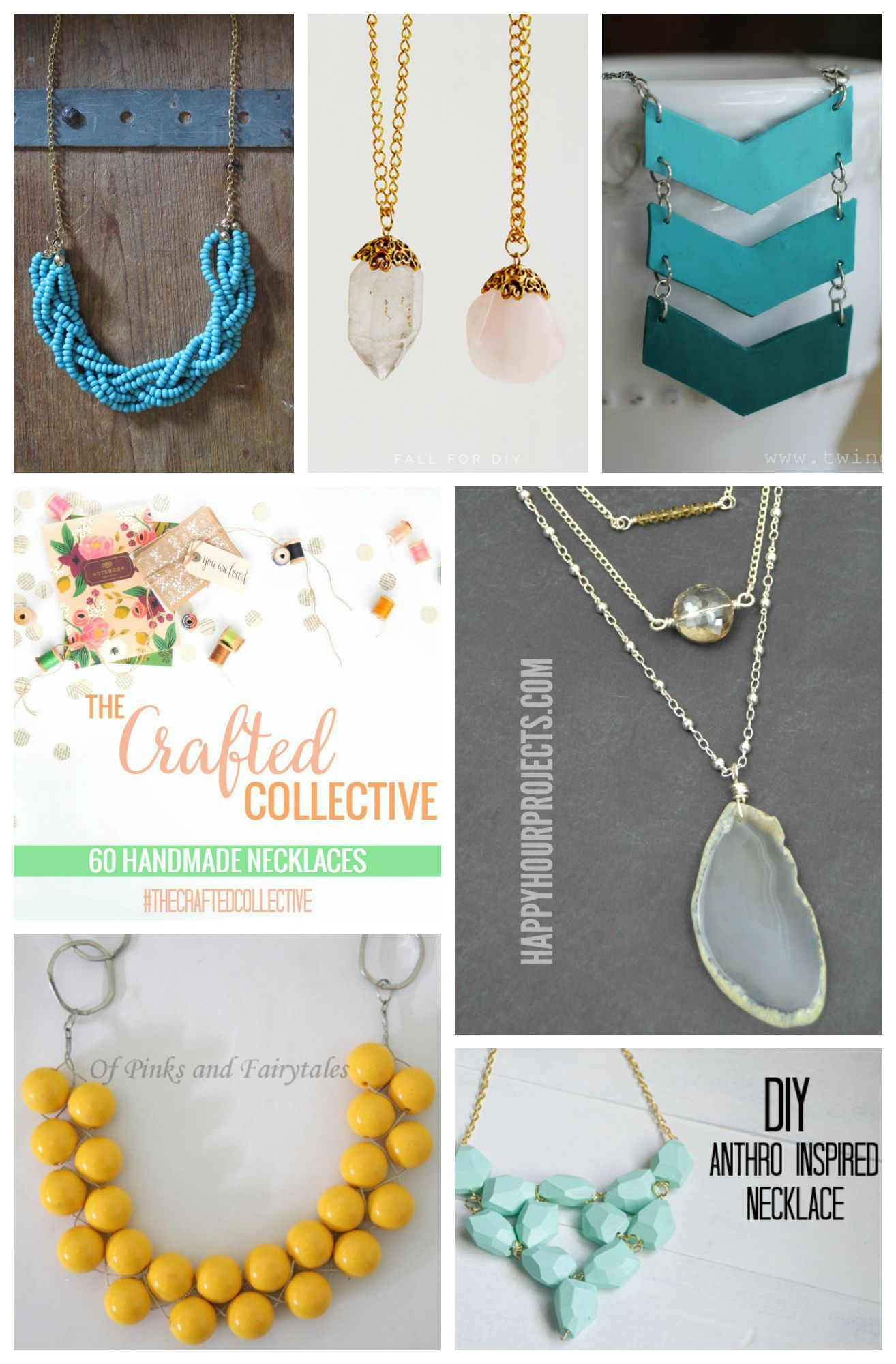 Handmade necklaces handmade necklaces and diy necklace 60 gorgeous handmade necklaces you can easily make yourself and love solutioingenieria Choice Image