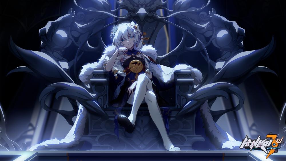 电子游戏 崩坏3 Theresa Apocalypse 壁纸 Kawaii Anime Anime Fantasy Character Design