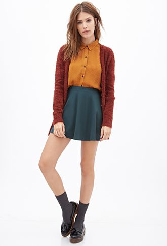 Dotted Crepe Blouse   FOREVER21 - 2000099596
