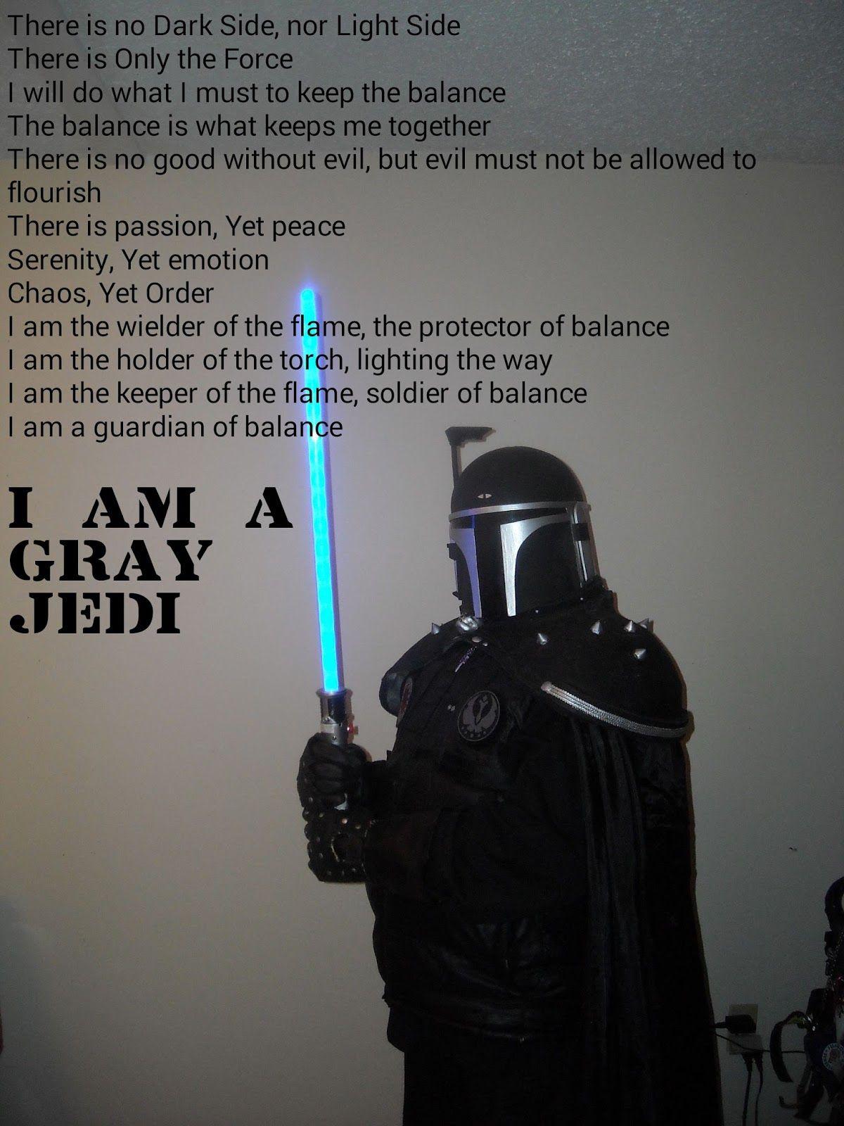 Pin On Grey Jedi