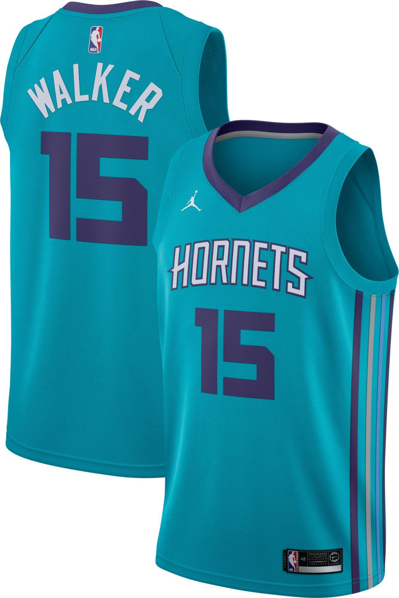 Charlotte Hornets #15 Kemba Walker ALL STAR Swingman Jersey