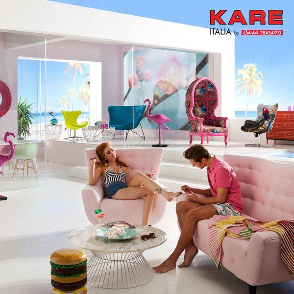 Sole, mare & fenicotteri rosa. Non è davvero estate se non la colori con gli esclusivi pezzi firmati Kare! Scopri di più su   bit.ly/2oCTa3T