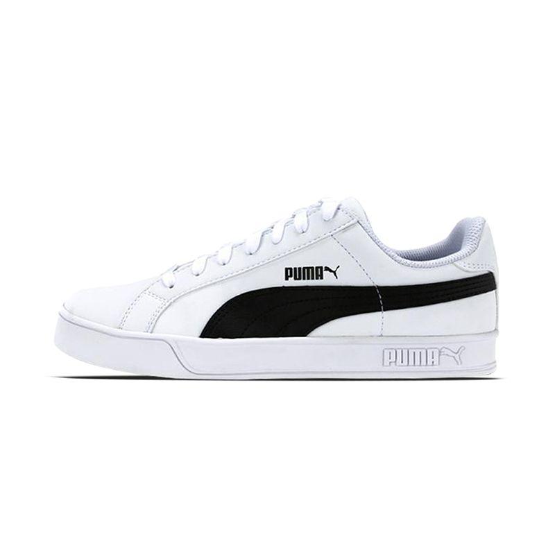 the latest e090f cd437 USD 89.12] Feng Puma Smash Vulc classic black and white ...