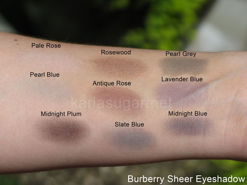 Eyeshadow Swatches Pale Rose Pearl