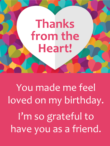 Outstanding Saying Thanks Is So Much Sweeter When You Send This Heartfelt And Personalised Birthday Cards Paralily Jamesorg
