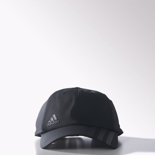 632a083fe4e Climalite 3-Stripes Off-Centered Hat - Black