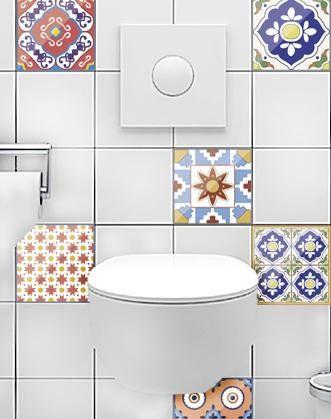 Kitchen Splashback Tiles Moroccan Tile Decal Bathroom Decals Ceramic
