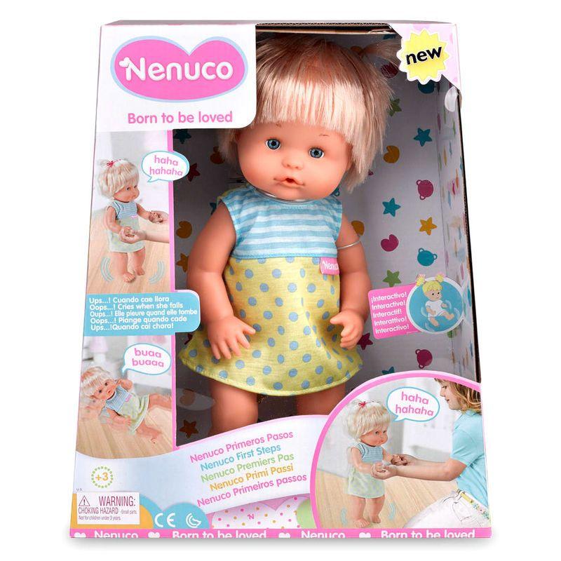 Muneco Nenuco Primeros Pasos 34 94 Juegos De Infancia
