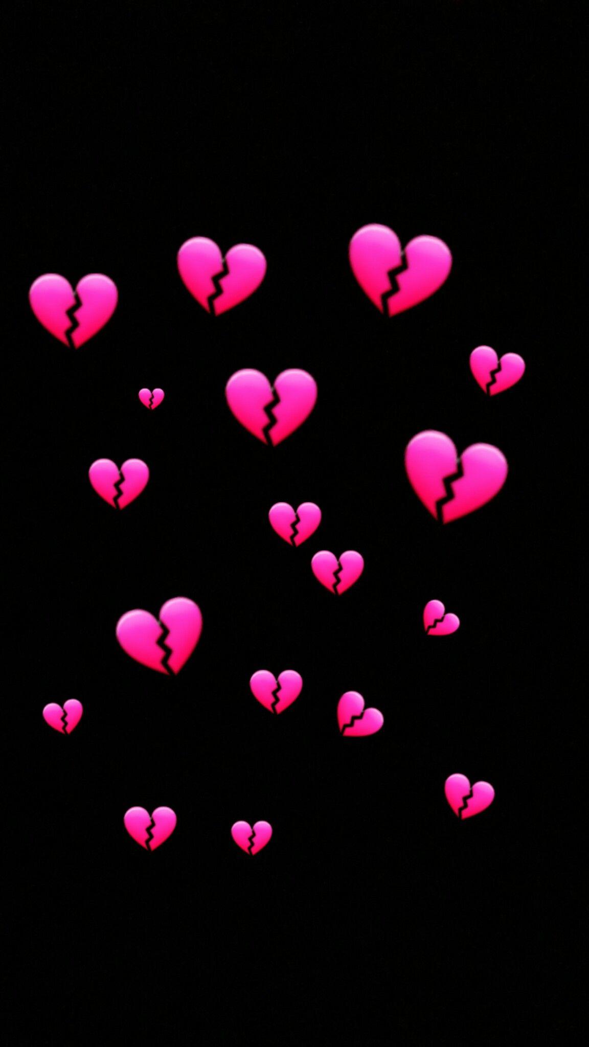 Wallpaper Heartbroke Emoji Wallpaper Heart Iphone Wallpaper Emoji Wallpaper Iphone