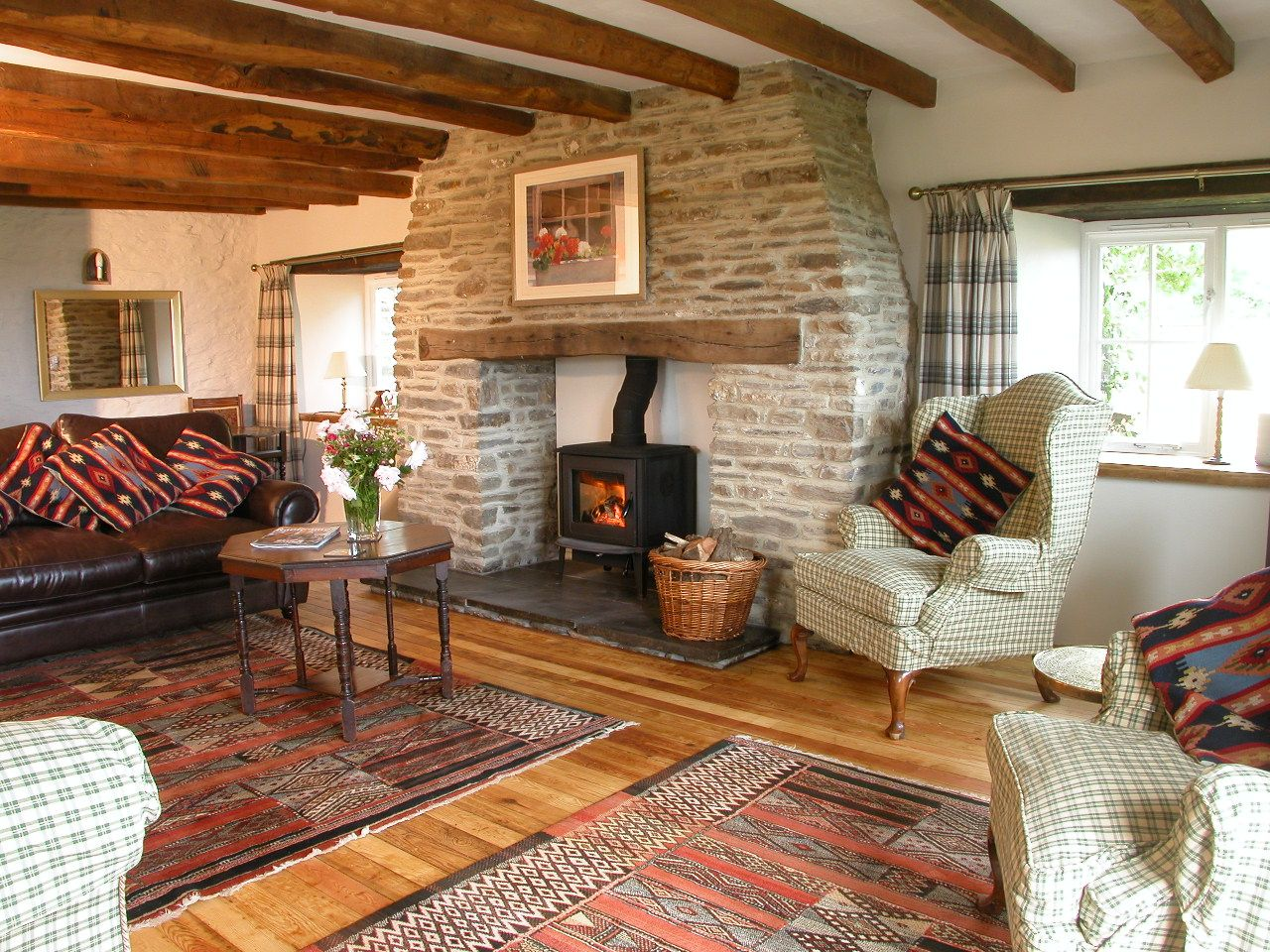 log living room lovely cosy living rooms all cottages an open 11499