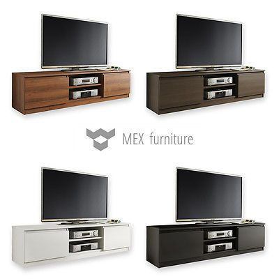 competitive price c8ddd 08c29 Details about Modern TV Unit 160cm TV Cabinet TV Stand Matt ...