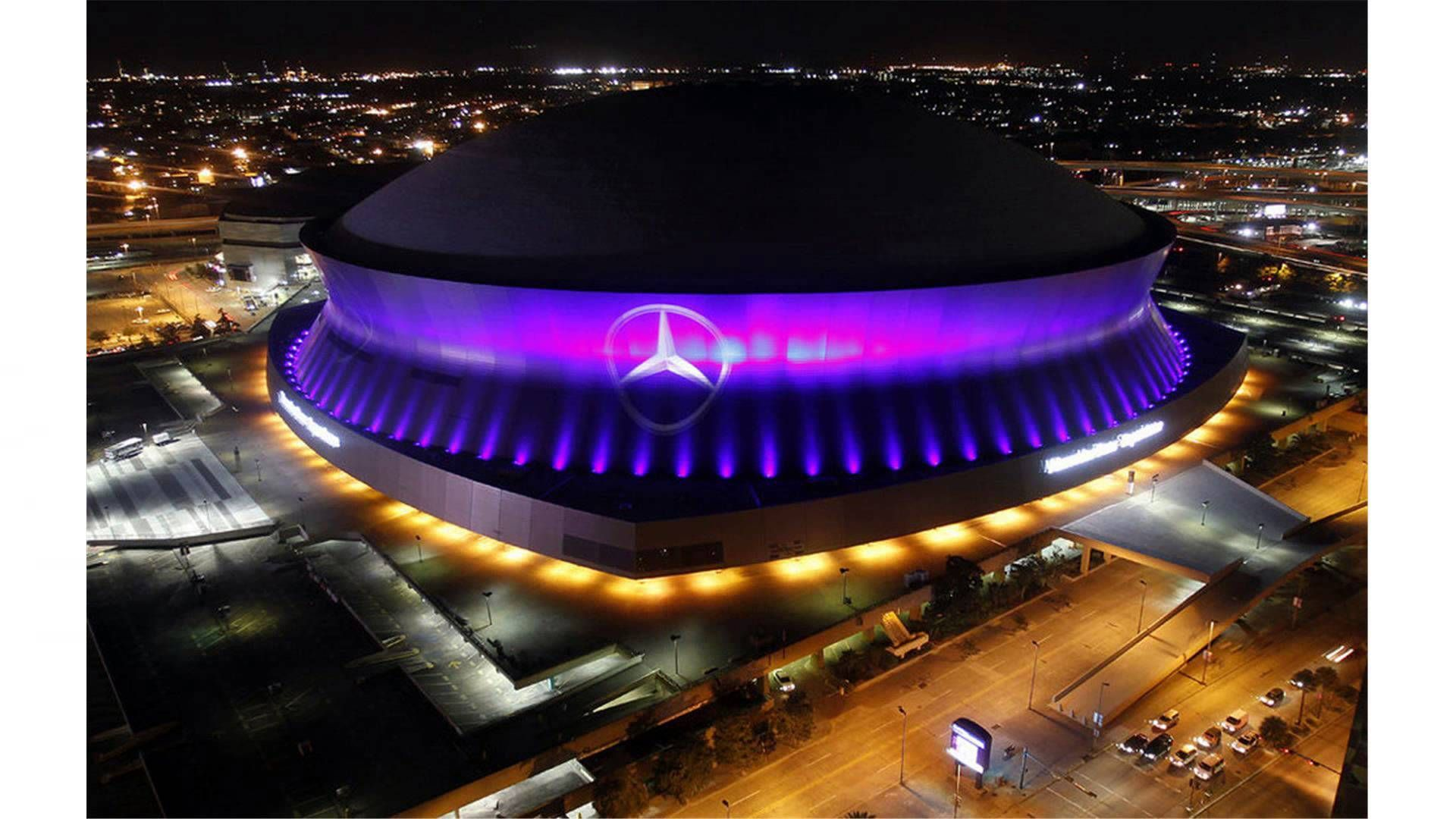 The MB Superdome seats over and is home to the 2009 SuperBowl champion New Orleans Saints