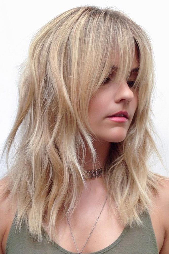 Medium Hairstyles For Thick Hair 30 Medium Length Hairstyles To Rock This Spring  Thick Hair Spring