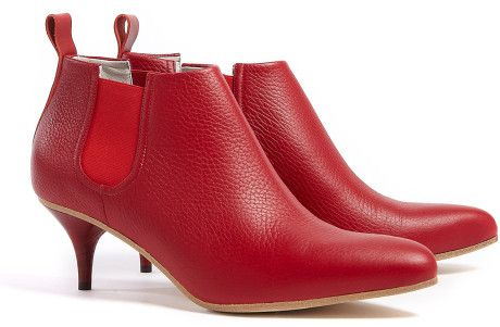 33509bbeb7c Acne Palma. Shoes Boots AnkleAnkle BootiesRed BootiesLeather BootiesKitten  HeelsPatent ...