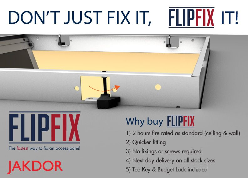 Our Flipfix Access Panels Are Now Up On Our Jakdor Website The Fastest Way To Fix An Access Panel With 2 Hours Fire Rating Access Panels Paneling Access Panel