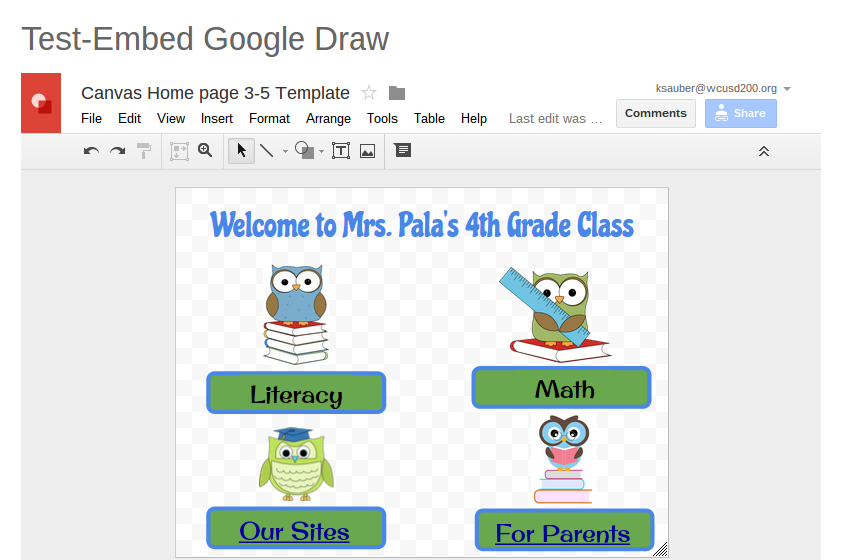 Embedding from Google Draw | Canvas Community | Canvas LMS