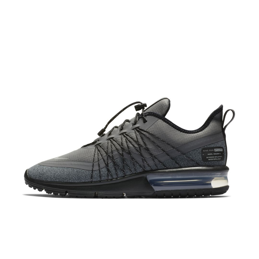 5c3ad66c09e Nike Air Max Sequent 4 Utility Women s Shoe Size 10.5 (Dark Grey ...