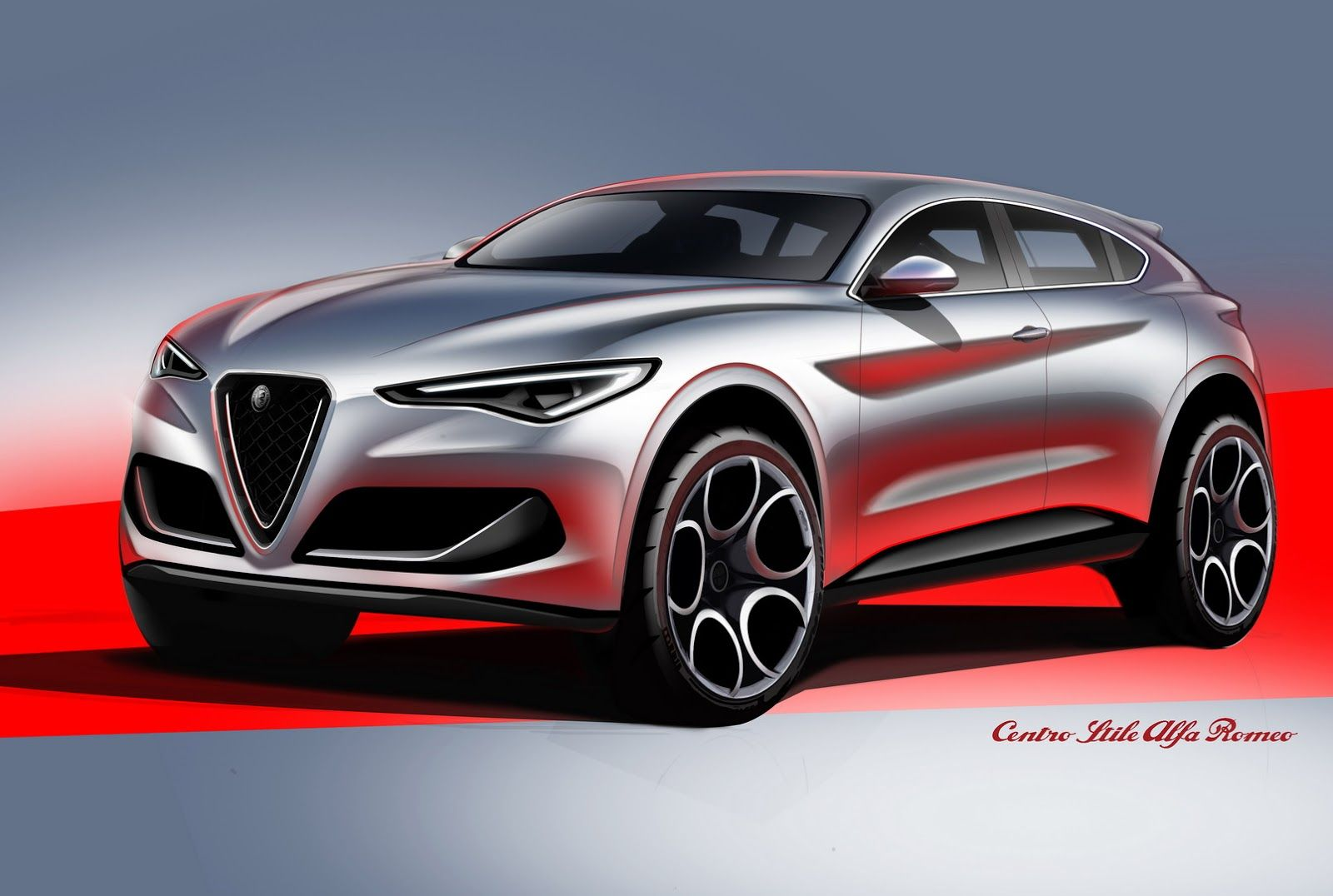Alfa Romeo Stelvio Mobil Konsep Mobil Teknologi