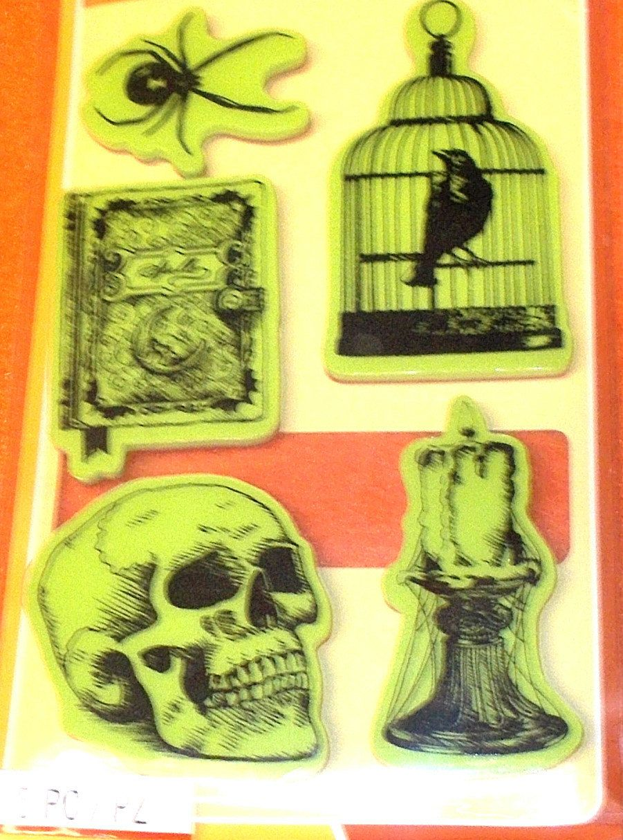 Nevermore Inkadinkado Cling Stamps