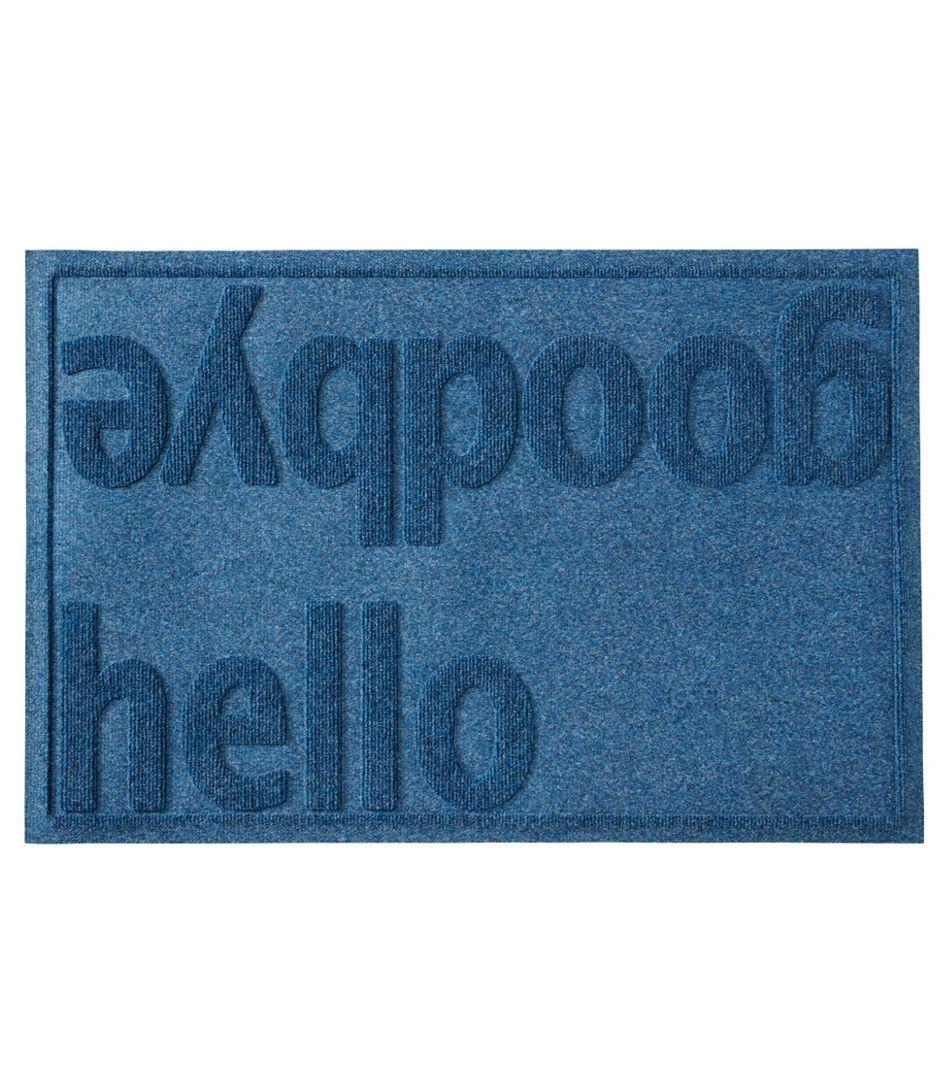 Everyspace Recycled Waterhog Doormat Hello Goodbye In 2020 Door Mat Hello Goodbye Waterhog Mat