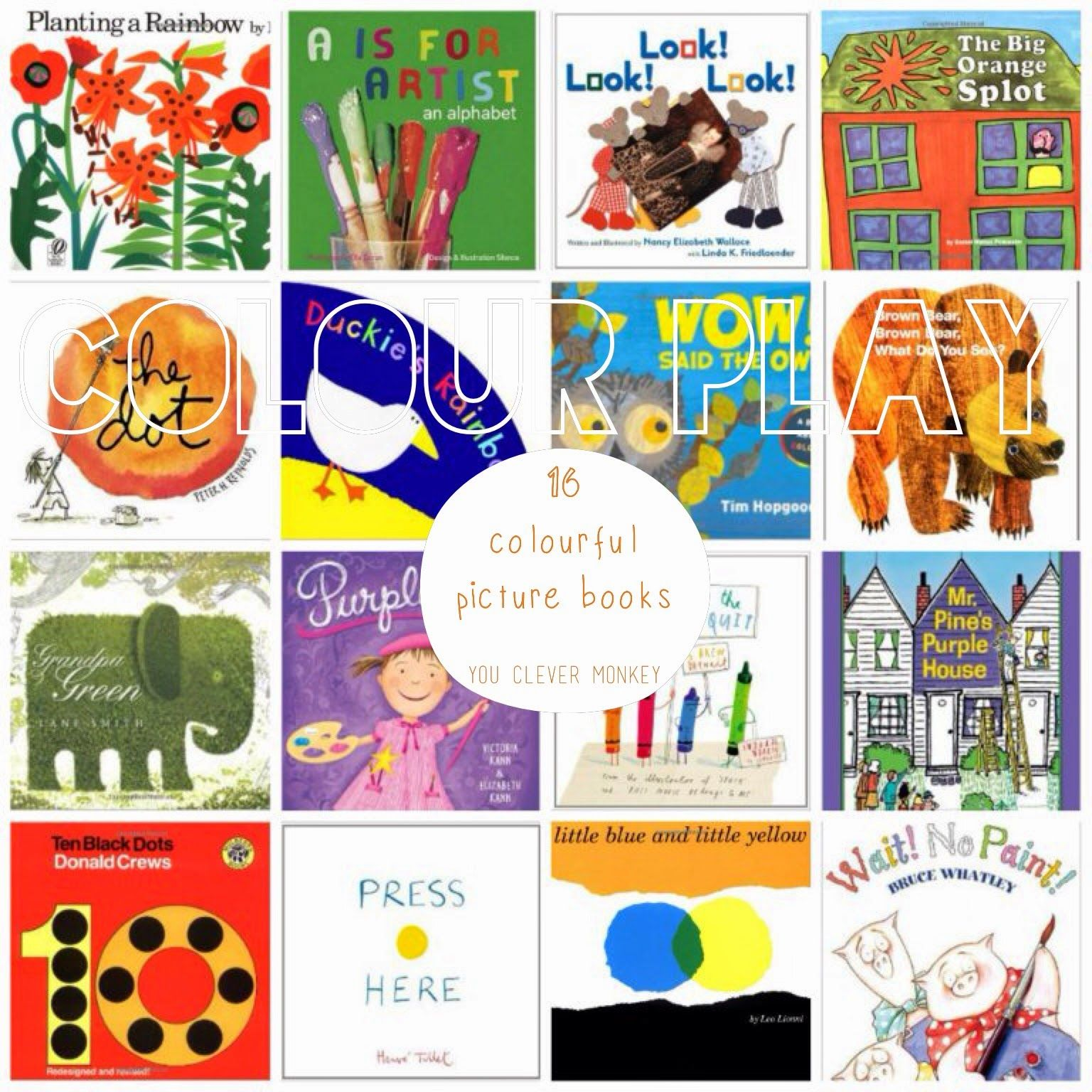 Colour play 16 colourful picture books to support learning