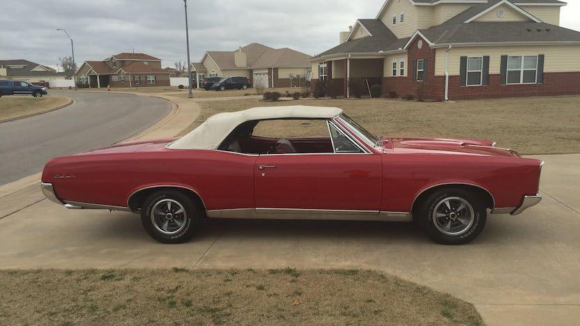 1967 Pontiac Gto Convertible Pontiac Gto Gto Pontiac